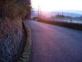 160312奈良側へ。丁度夜明け