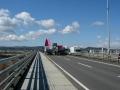 160312山城大橋はダンプでいっぱい