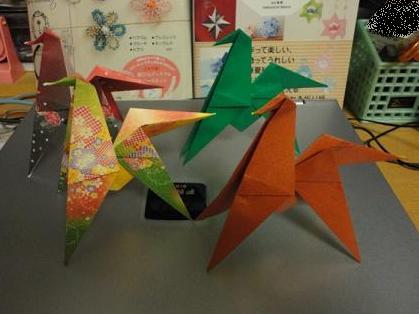 折り紙の馬