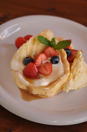 シフォンパンケーキ1