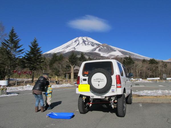 jimnyと富士山