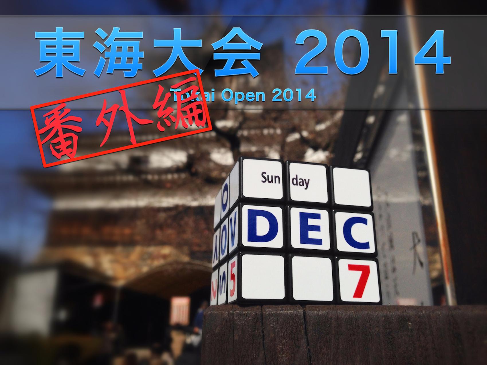 東海大会 2014 番外編