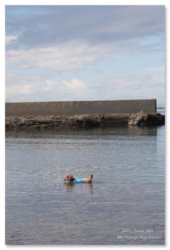 葉山,泳ぐ