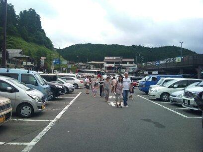 高野山駐車場