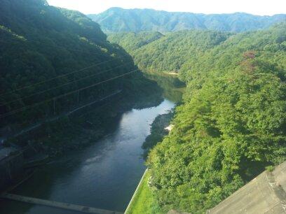 高山ダム眺め