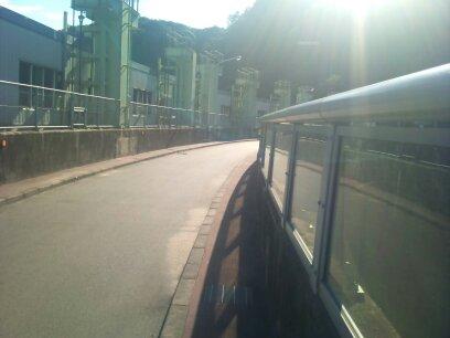 高山ダム通路