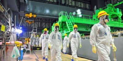 Visite a la centrale de Fukushima縮小
