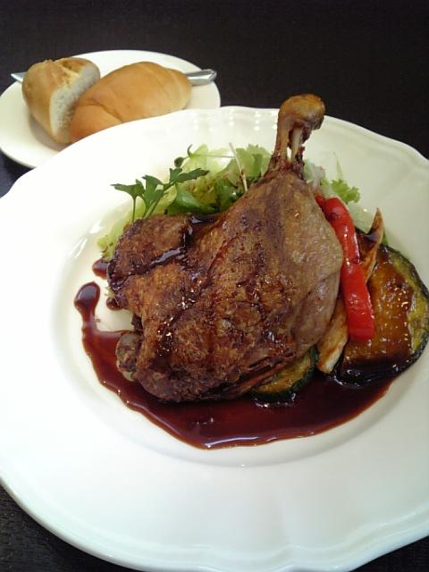 120425_フランス産鴨肉のコンフィ