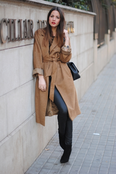 camel coat, zina fashionvibe, chanel bag