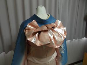 ピンク帯5枚羽根