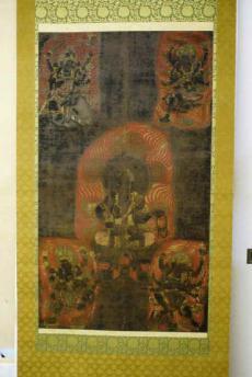 DSC06322不動明王(中心)大威徳明王(左上)・金剛夜叉明王(右上)・軍舎利明王(左下)・隆三世明王(右下)