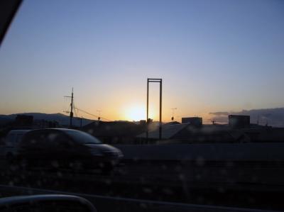 福岡夕焼け