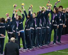 ☆2012ロンドン五輪 なでしこJAPAN〜銀メダル〜☆