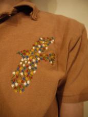 KAPITAL 鹿の子アグリポロシャツ(1C・アミッシュイーグル)