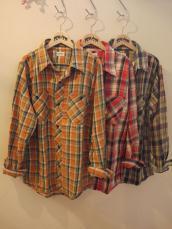 ネルチェックWORK L/Sシャツ