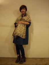BLUE BLUE JAPAN(OKURA) シャトルビエラ ホンアイワンピース