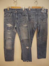 BB PP24グラデーションパッチジーンズ
