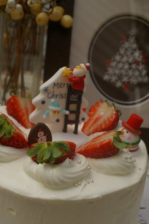 クリスマスケーキ2013-2