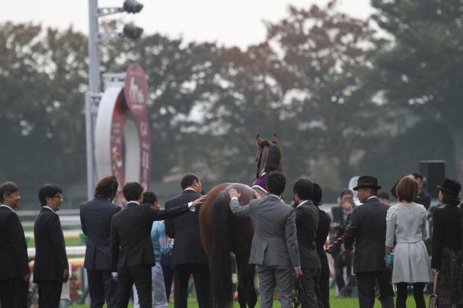 2014 天皇賞・秋 表彰式2