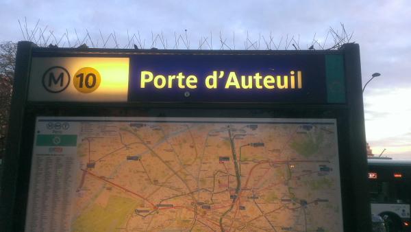 Porte dAuteuil
