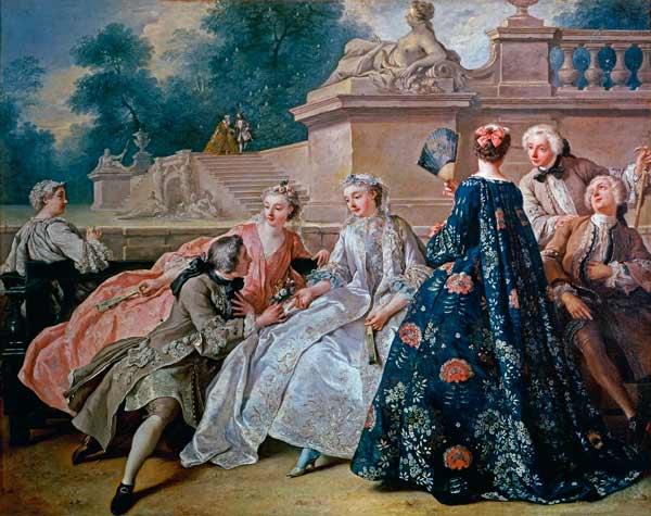 ジャン=フランソワ・ド・トロワ《愛の宣言》