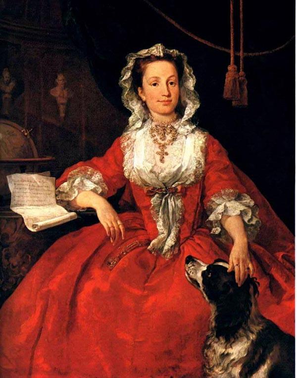 ウィリアム・ホガース《フランス王女アデライド》