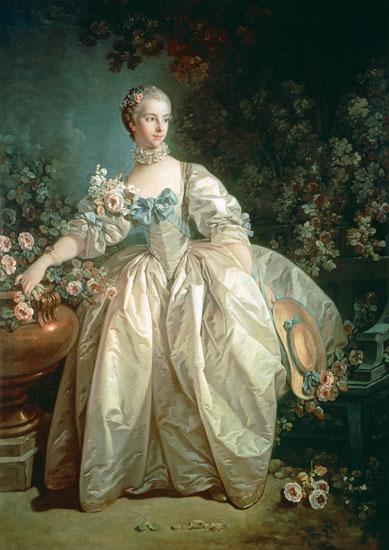 ブーシェ《ベルジェール夫人の肖像》