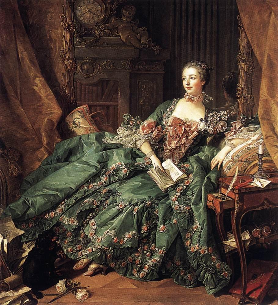 ブーシェ《ポンパドゥール夫人》