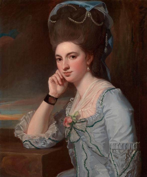 ロムニー《若い女性の肖像》