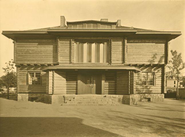 《ゾマーフェルト・ハウス》(1920)
