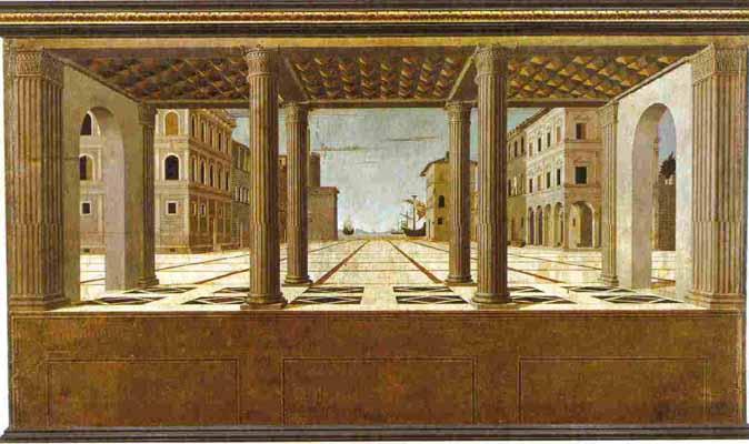 マルティーニ《理想都市》