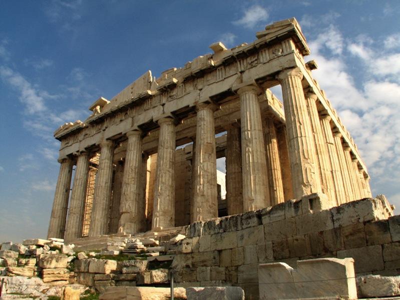 アクロポリスの丘「エレクティオン神殿」