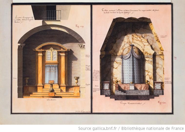 シナゴーグと聖域 [La synagogue et le sanctuaire]