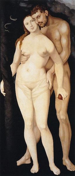 Adam and Eve 1531 ハンス・バルドゥング・グリーン