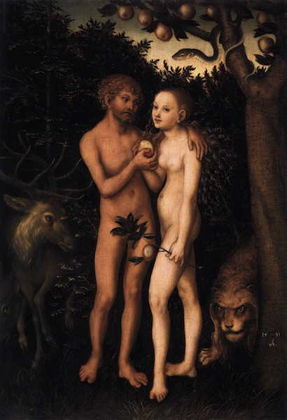 Adam and Eve 1533 クラナッハ