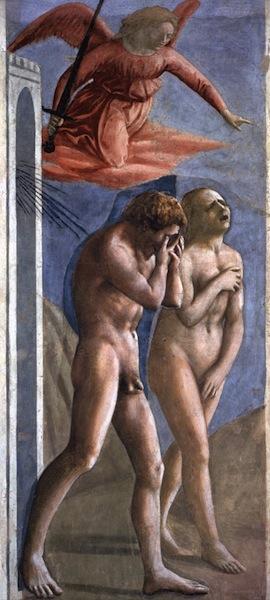 MASACCIO The Expulsion from the Garden of Eden 1426-27