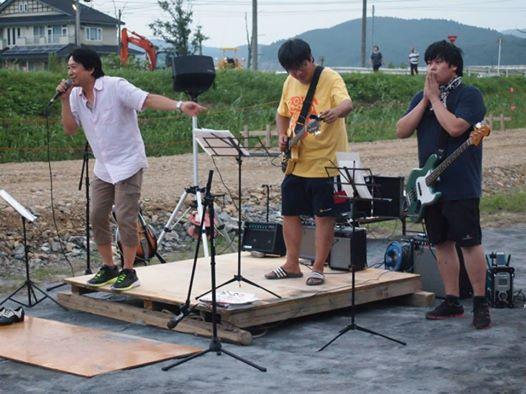 2014福地夏祭りバンド