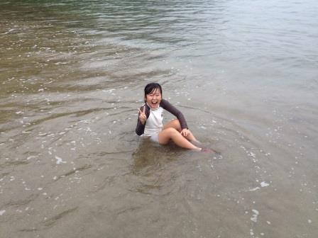 波板海水浴
