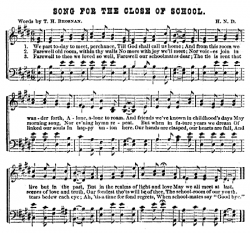 Song for the Close of School