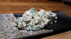 アボカドのクリームチーズ&マヨネーズ和え