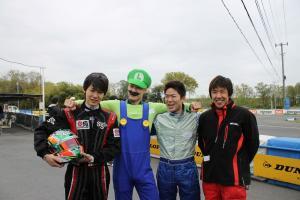 第一回 にじいろシネマ レーシングカート大会