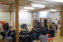 岩手県 大槌 おさなご幼稚園 移動映画館 映画 2