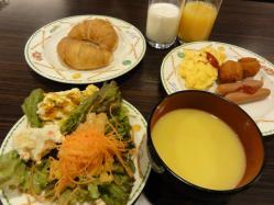 石水亭 朝食1