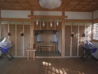 八雲神社内部