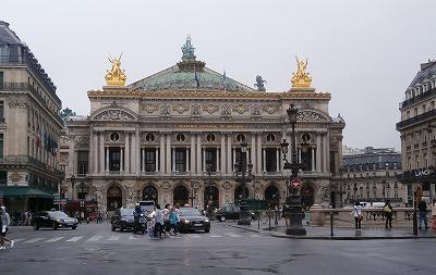 パリオペラ座全景