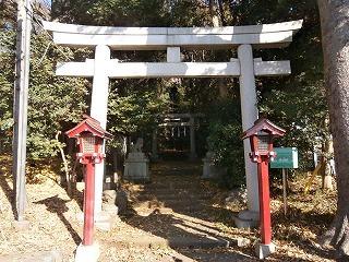 狭山神社一鳥居