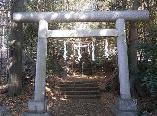 狭山神社二鳥居