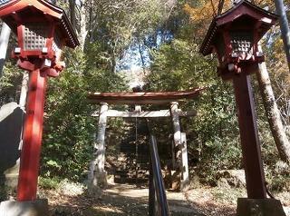 狭山神社三鳥居