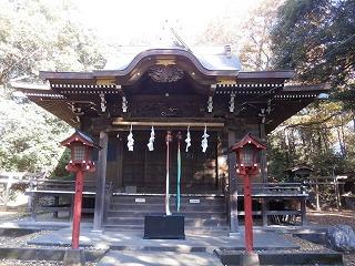 狭山神社拝殿