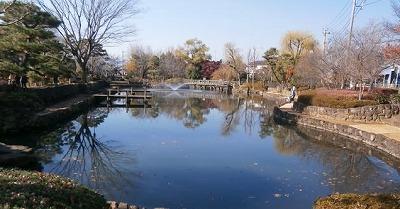 弁財天狭山池